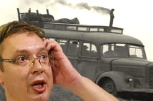 ВОЗИ, ВУЧКО: СНС само за транспорт ботова у кампањи потрошио потрошио 14 МИЛИОНА НАШЕГ НОВЦА!