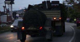 Колона НАТО технике у Румунији (видео)