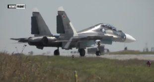 Су-30 уништава «непријатељски» брод на Криму (видео) 12