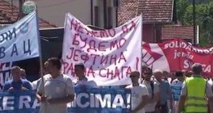 Србија се умирити не може: 3.000 радника у штрајку, не помажу више ни лажна обећања (видео) 7