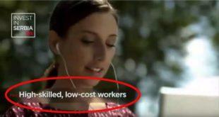 СКАНДАЛОЗНО! ПОНИЖАВАЈУЋА РЕПОРТАЖА НА ЦНН Инвестирајте у Србију: Квалитетна и јефтина радна снага (видео) 5