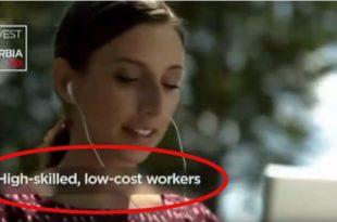 СКАНДАЛОЗНО! ПОНИЖАВАЈУЋА РЕПОРТАЖА НА ЦНН Инвестирајте у Србију: Квалитетна и јефтина радна снага (видео)