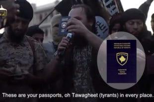 Косовски Срби, косовски пасоши, шиптарски плаћеници