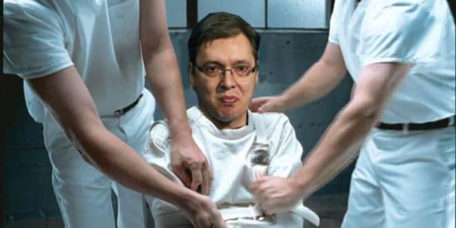 Тиранин се јебе док су му ноге у блату: Време је да се и Србија извуче из смртоносног загрљаја лудака