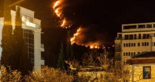 Црна Гора: Ухапшен држављанин Албаније због подметања пожара