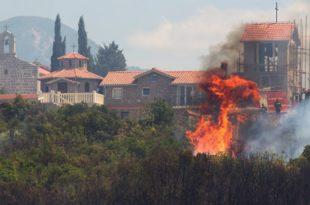 Током ноћи у Црној Гори нови пожари, још не стиже помоћ НАТО и ЕУ