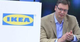 Светски медији се спрдају са Вучићем због ИКЕА