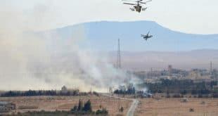 Руси и Сиријци извршили хеликоптерски десант на град Ел Кдер (видео)