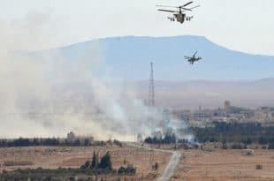 Руси и Сиријци извршили хеликоптерски десант на град Ел Кдер (видео) 4
