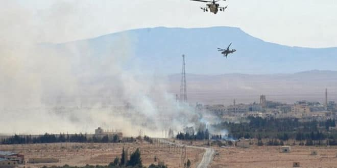 Руси и Сиријци извршили хеликоптерски десант на град Ел Кдер (видео) 1