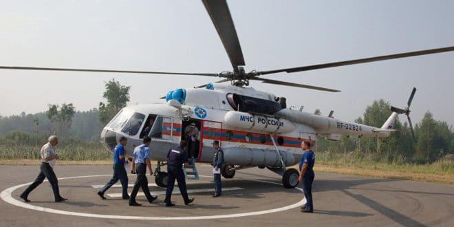 Русија послала Србији хеликоптер за гашење пожара 1