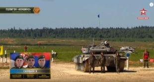 Српски тенкисти на шестом месту тенковског биатлона 6