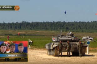 Српски тенкисти на шестом месту тенковског биатлона