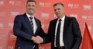 Двери и Здрава Србија потписале споразум о заједничком политичком деловању