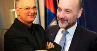 ЕУ МАРИОНЕТЕ! Јанковић и Шутановац на састанку са Мекалистером
