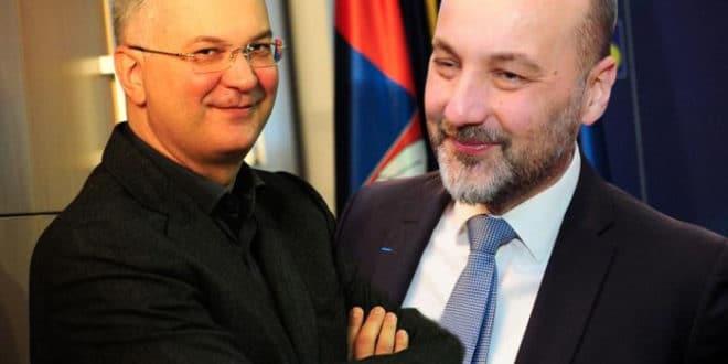 ЕУ МАРИОНЕТЕ! Јанковић и Шутановац на састанку са Мекалистером 1