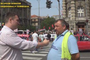 """Протест радника """"Гоше"""" у Београду! Цела репортажа и изјаве учесника (видео) 8"""