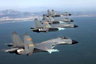 Кинеска војна авијација извела вежбе око Тајвана 11
