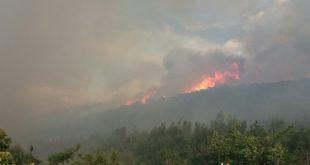 Пожар на Сувобору и Маљену: Ванредна ситуација у три села 1