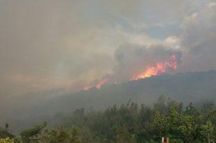 Пожар на Сувобору и Маљену: Ванредна ситуација у три села