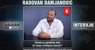 ИНТЕРВЈУ: Радован Дамјановић - Хрвати су пореклом Срби, али имају измишљену историју! (видео) 7