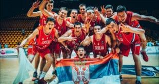 Србија јуниорски првак Европе у кошарци