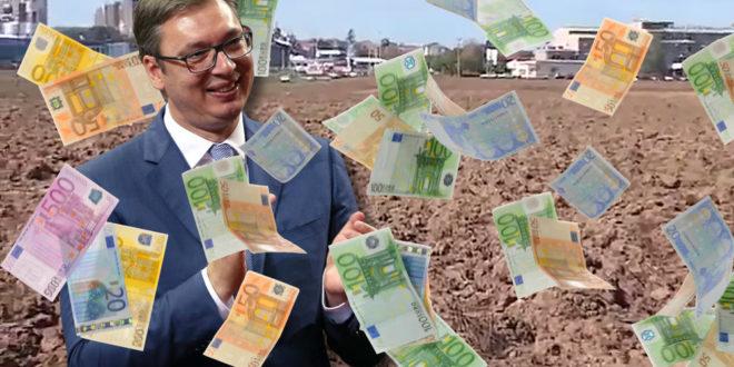 НАМАГАРЧИО НАРОД ЗА СВЕ ПАРЕ: За Вучићевих 30 евра, платићемо 33 преко пореза!