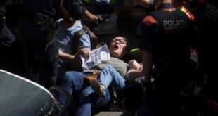 Сукоб шпанске полиције и Каталонаца
