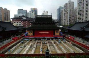 Кинези померили храм стар 135 година и тежак преко 2.000 тона (видео) 1