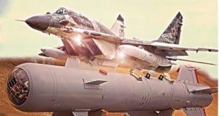 Руски МиГ-29СМТ уништио терористе навођеном бомбом ОФАБ-500Кр