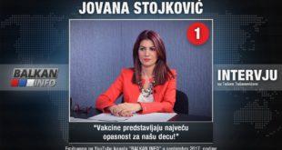 ИНТЕРВЈУ: Јована Стојковић - Вакцине представљају највећу опасност за нашу децу! (видео) 13