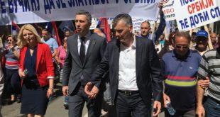 Марш против зулума напредњака 4