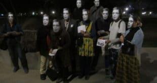 Полиција привела уметнике због маске с ликом Александра Вучића