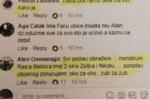 У сред Србије муслимани позивају на убиства и малтретирање српске деце