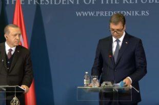 Ердоган у сред Београда од Вучића направио МАЈМУНА!
