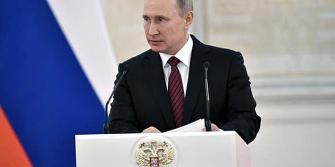 Путин: У Сирији не ратујемо против слабо организованих банди већ против озбиљних снага