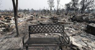 Калифорнија: Од Санта Росе остао само прах и пепео (фото, видео)