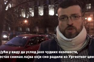 Изјава Срђан Ного након саобраћајног удеса: ,,Двери не могу да ућуткају!'' (видео)