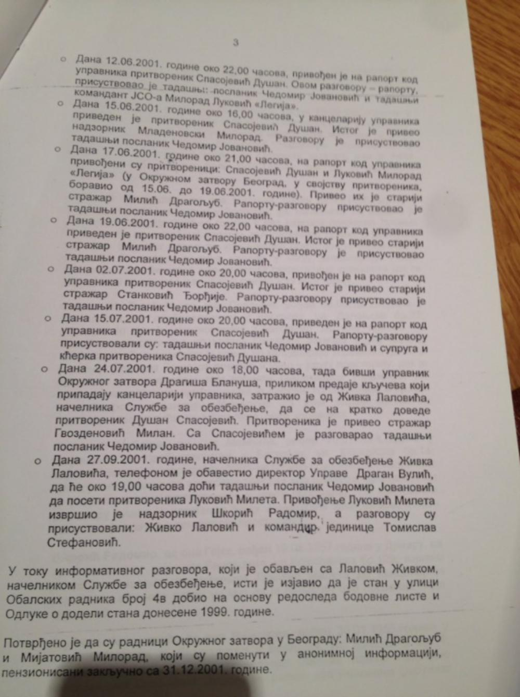 Чедомир Јовановић код Ђинђићевих убица у затворској посети 12 пута (фото) 4