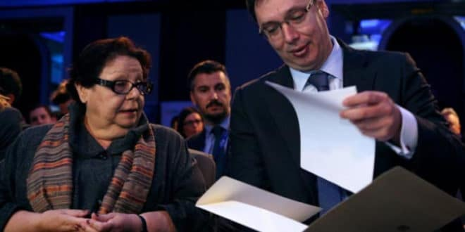 Апел Соњи Лихт, Фонду за отворено друштво и Сорошу да додатно помогну Вучића и СНС 1