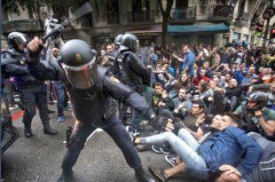 Сусрет са европском демократијом на улицама Каталоније (фото, видео)