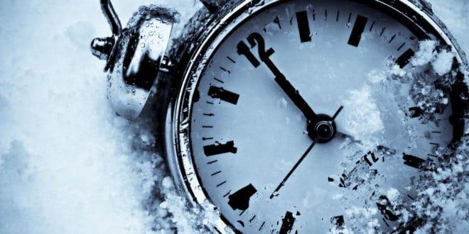 Почело зимско рачунање времена 1