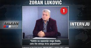 ИНТЕРВЈУ: Зоран Луковић - Секте су опасније него икада, зато што делују кроз појединце! (видео) 24