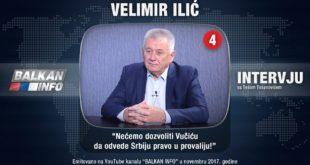 ИНТЕРВЈУ: Велимир Илић - Нећемо дозволити Вучићу да одведе Србију право у провалију! (видео) 8