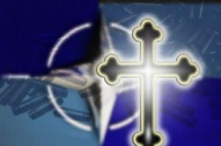 НАТО православци черупају српску цркву 8