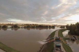 Група неодговорних људи угрожава Београд - опасна деструкција насипа који штити Нови Београд од поплаве