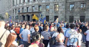 ПРОТЕСТ ЗАПОСЛЕНИХ У ЈП ПОШТА СРБИЈЕ: Пензионери добили новац, рачуни касне због блокаде 7
