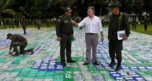 Колумбијска полиција запленила 12 тона кокаина (видео)