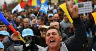 Хиљаде Румуна на протестима против пореских реформи 5
