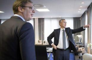 Комерсант: Београд раније осуђивао агресију НАТО, сада се Вучић залаже да се Алијанси опрости бомбардовање